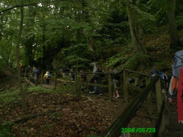 155 Stufen bis zur Burg!